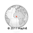 Outline Map of Zorgho