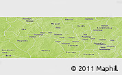 Physical Panoramic Map of Zorgho