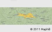 Savanna Style Panoramic Map of Zorgho