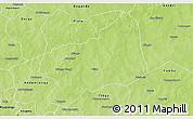 Physical 3D Map of Bilanga