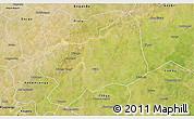 Satellite 3D Map of Bilanga