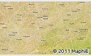 Satellite 3D Map of Bogande