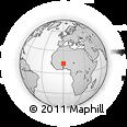 Outline Map of Bogande