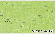 Physical 3D Map of Liptougou