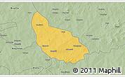 Savanna Style 3D Map of Liptougou