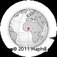 Outline Map of Liptougou