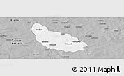 Gray Panoramic Map of Liptougou