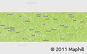 Physical Panoramic Map of Liptougou