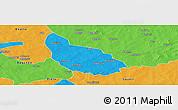 Political Panoramic Map of Liptougou