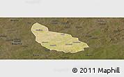Satellite Panoramic Map of Liptougou, darken