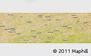 Satellite Panoramic Map of Liptougou