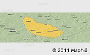 Savanna Style Panoramic Map of Liptougou