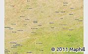 Satellite Panoramic Map of Gnagna
