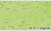 Physical 3D Map of Piela