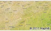 Satellite 3D Map of Piela