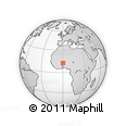 Outline Map of Piela