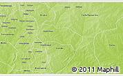 Physical 3D Map of Comin-Yanga