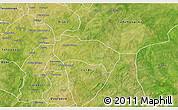 Satellite 3D Map of Comin-Yanga