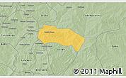 Savanna Style 3D Map of Comin-Yanga