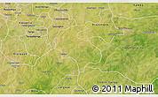 Satellite 3D Map of Diabo