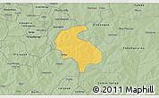 Savanna Style 3D Map of Diabo