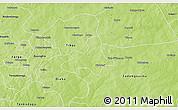 Physical 3D Map of Diapangou