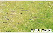 Satellite 3D Map of Diapangou