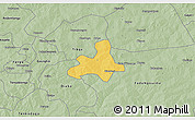 Savanna Style 3D Map of Diapangou