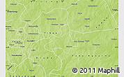 Physical Map of Diapangou