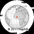 Outline Map of Diapangou
