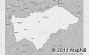 Gray 3D Map of Gayeri