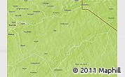 Physical 3D Map of Gayeri