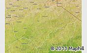 Satellite 3D Map of Gayeri