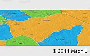 Political Panoramic Map of Gayeri