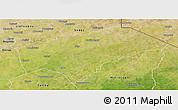 Satellite Panoramic Map of Gayeri