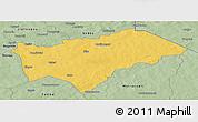 Savanna Style Panoramic Map of Gayeri