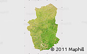 Satellite Map of Gourma, cropped outside