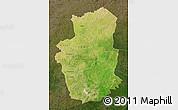Satellite Map of Gourma, darken