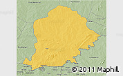 Savanna Style 3D Map of Pama