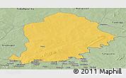 Savanna Style Panoramic Map of Pama