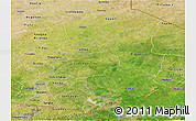 Satellite Panoramic Map of Gourma