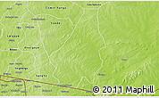Physical 3D Map of Soudougui