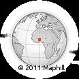 Outline Map of Soudougui