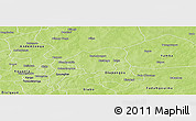 Physical Panoramic Map of Tibga