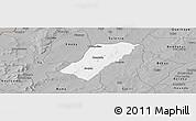 Gray Panoramic Map of Badema