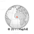 Outline Map of Bereba