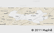 Classic Style Panoramic Map of Bobo-Dioulasso