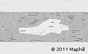 Gray Panoramic Map of Hounde