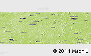 Physical Panoramic Map of Hounde