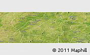 Satellite Panoramic Map of Hounde